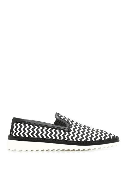Dolce&Gabbana Desenli Ayakkabı Siyah